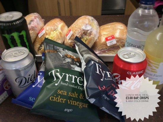 Knighton, UK: Meal deal 