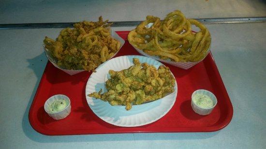 Haverhill, MA: Clam Strips, Calamari and Rings