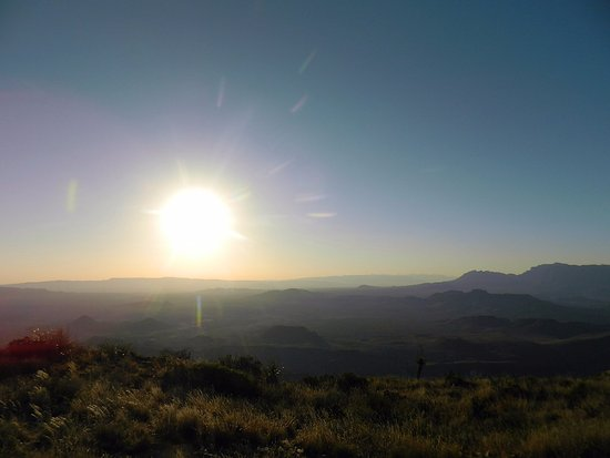 Terlingua Ranch Lodge: Sunrise on Christmas Mountain