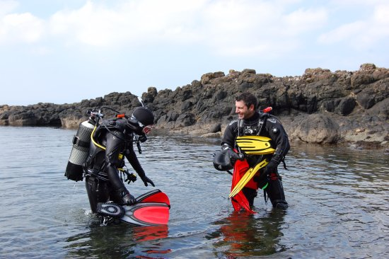Castlerock, UK: Our highly qualified and enthusiastic instructors cannot wait to share the underwater world with