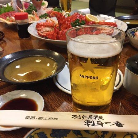 Eniwa, Japan: 刺身一番