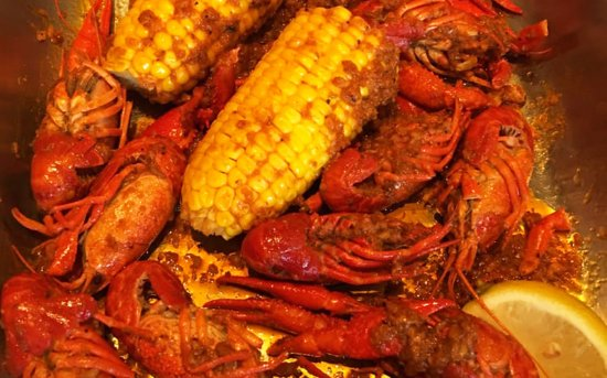 The Catch Seafood Cajun Crawfish Corn On Cob