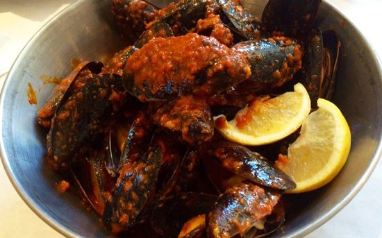 The Catch Seafood Cajun Mussels