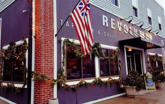 Revolution Taproom Grill Rochester Menu Prices
