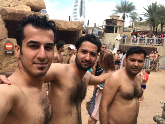 Wild Wadi Waterpark: Selfies in Wildwadi