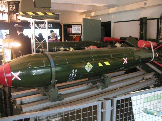 Νάντουιτς, UK: WE177 bomb