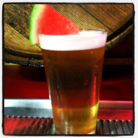 Willington Pizza House: Seasonal Willington Watermelon Ale