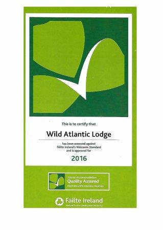 Ballyvaughan, Ireland: Certificate