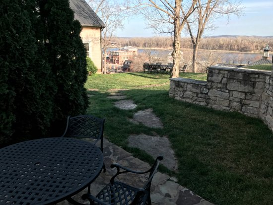 The Inn at Hermannhof : View of MO river from room.