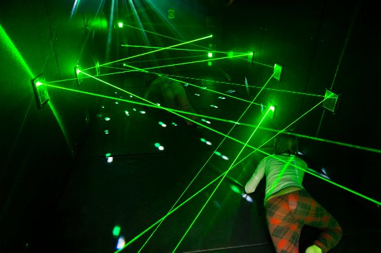 Buelach, Swiss: Mission Possible Laser Maze