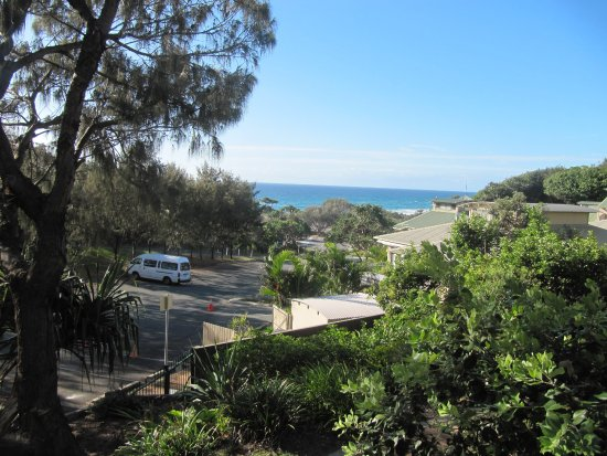 Point Lookout, Australië: View from our apartment.