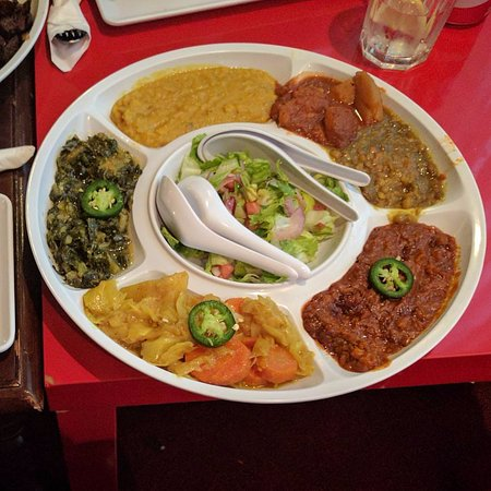 Photo of African Restaurant Lucy's Ethiopian Restaurant and Lounge at 6800 Southwest Fwy, Houston, TX 77074, United States