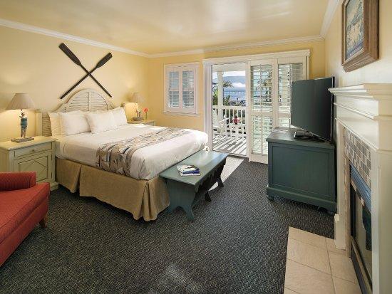 Avila Beach, Kalifornien: Villa Suite King Bedroom