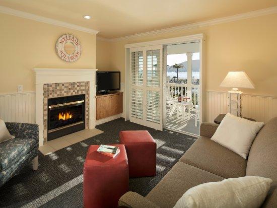 Avila Beach, Kalifornien: Villa Suite Living Room