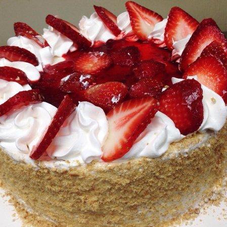 League City, TX: Strawberry cheesecake