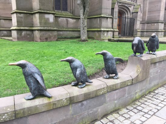 Penguin Statues