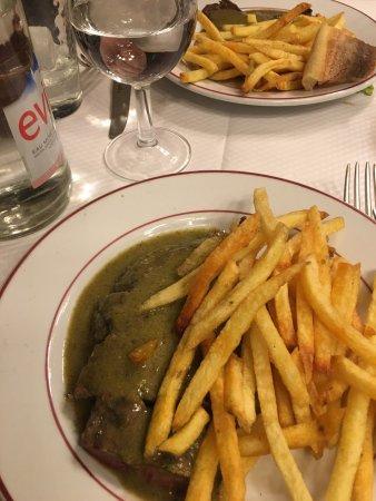 Photo of French Restaurant Relais de l'Entrecote at 15 Rue Marbeuf, Paris 75008, France