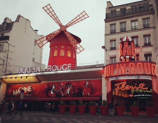 Photo of Tourist Attraction Moulin Rouge at 82 Boulevard De Clichy, Paris 75018, France