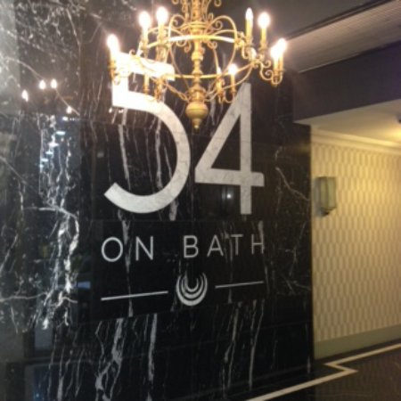 54 on Bath: Mall Entrance