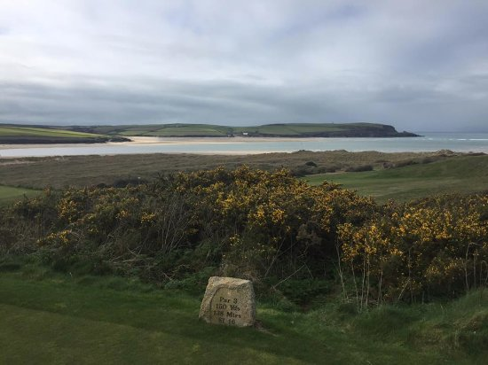 St. Enodoc Golf Course: View from the course