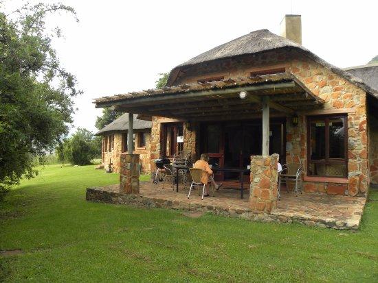 Lydenburg, Sydafrika: verandah
