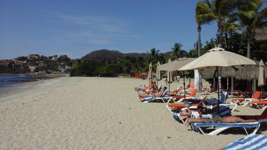 La Cruz de Huanacaxtle, المكسيك: Beach Club area