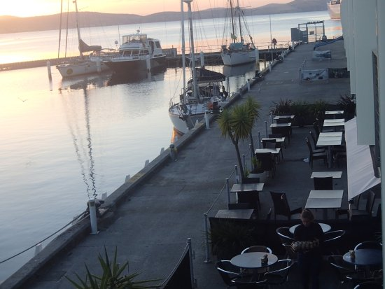 Somerset on the Pier Hobart: View from the balcony