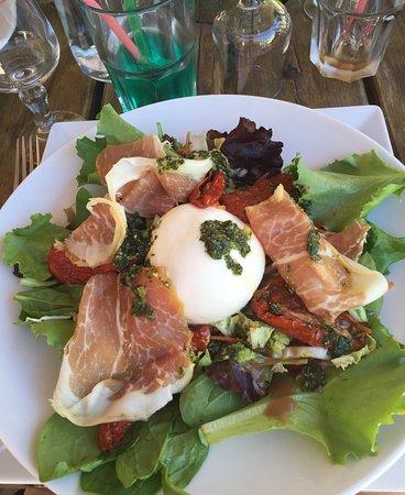 Pertuis, Francia: Salade italienne