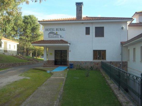 San Pablo de los Montes, Spain: Entrada Hotel