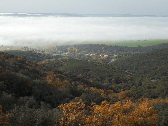 Сан-Пабло-де-лос-Монтес, Испания: vistas desde el puerto de montaña