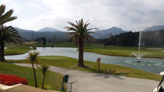 Riviera golf de Barbossi: view from clubhouse