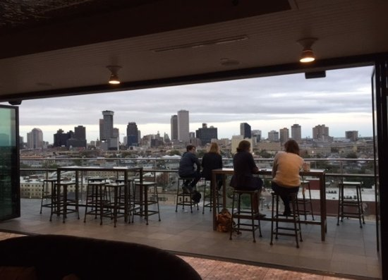 The tin roof bar a block from the indigo offers a - Hotels near garden district new orleans ...