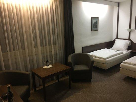 Hotel Mondial: gemütliche Sitzecke
