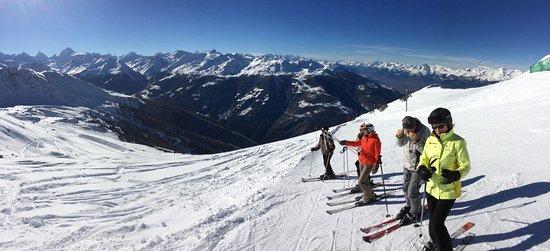 Saint-Luc, Schweiz: Les pistes !
