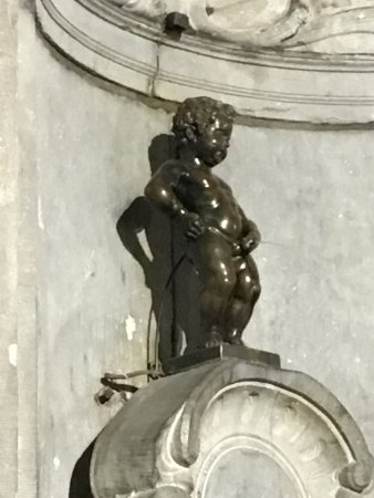 Photo of Tourist Attraction Manneken Pis at Brussels 1000, Belgium