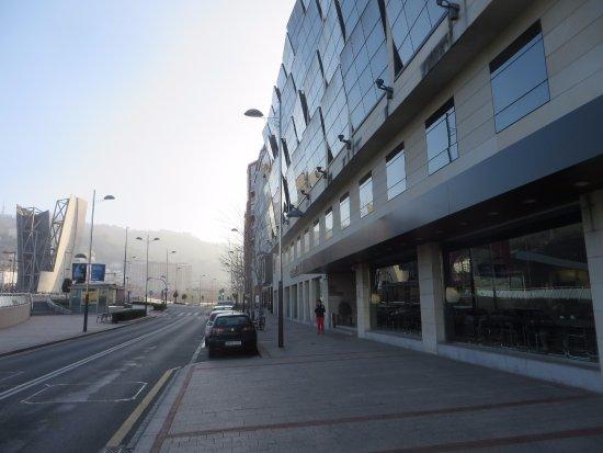 Gran Hotel Domine Bilbao: Outside