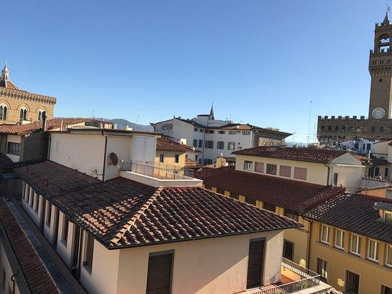 Hotel Della Signoria: vista desde sala del desayuno
