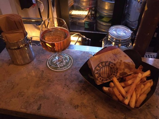Photo of American Restaurant Barrels Burgers & Beer at 20 Stora Nygatan, Stockholm 111 27, Sweden