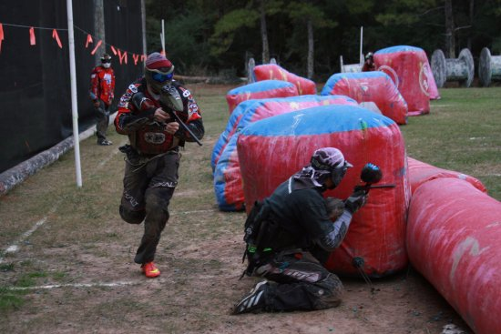 TXR Paintball: Playing on the Air Ball Bunker Field