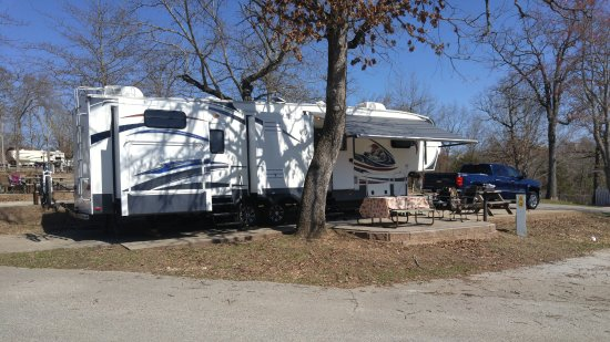 Branson KOA & Convention Center: RV Site 43