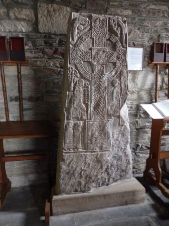 Crieff, UK: One of the Pictish stones up the road