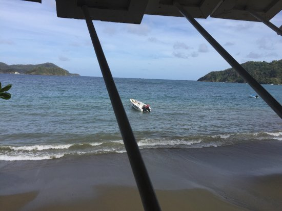 Speyside, Tobago: The lobster and the views.