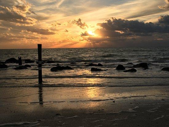 Redington Beach, Floryda: sunset from the beach