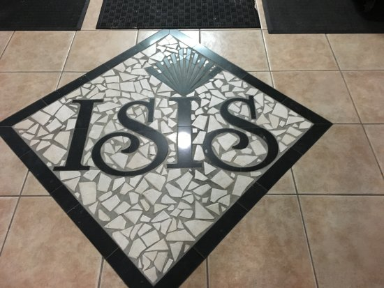 Redington Beach, FL: This is all that's left of Isis (the old name of the hotel)
