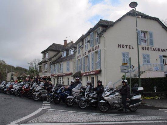 Mur-de-Barrez, France : garage gratuit pour motos et vélos