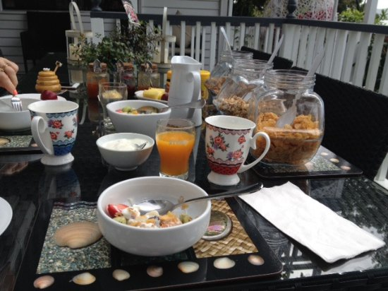 Marlin House Bed & Breakfast: Yummy breakfeast