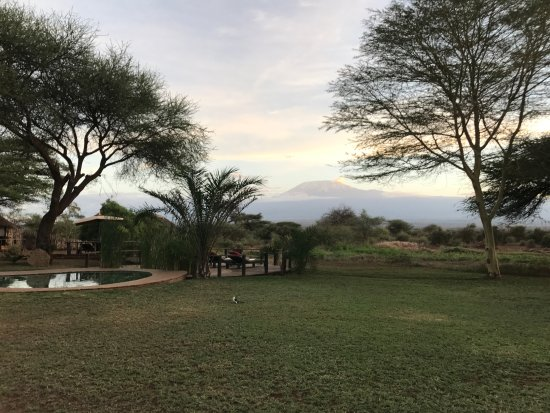 Tawi Lodge: Mt. Kilimanjaro.