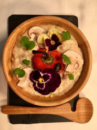 Бромли, UK: Savoury porridge