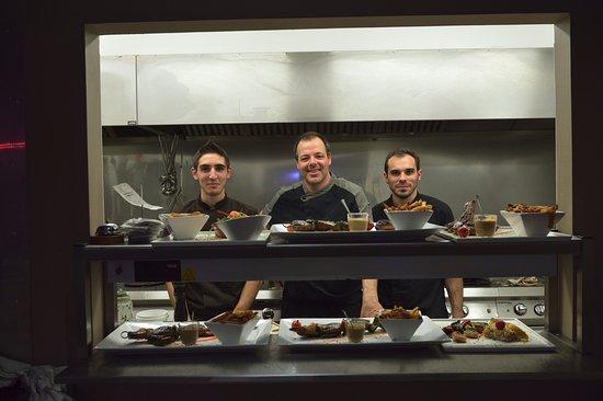 Le Pontet, France: cuisine