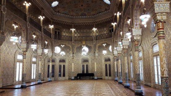 Salon Arabe, le joyau du Palacio da Bolsa - Bild von Palacio da ...